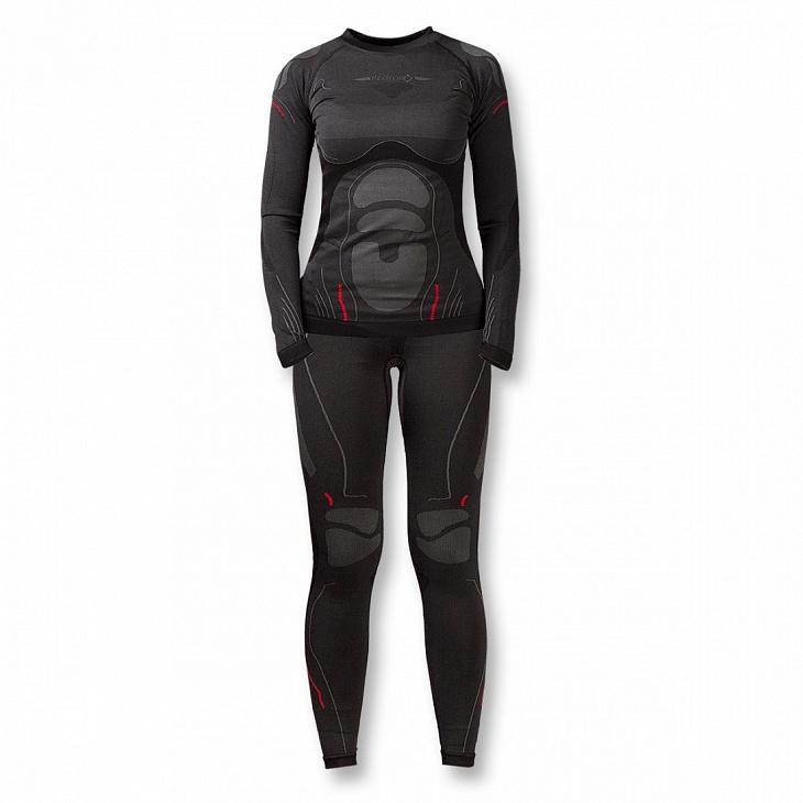 Купить Термобелье костюм Dry Zone Женский (42-44, 1000/черный, ,), Red Fox