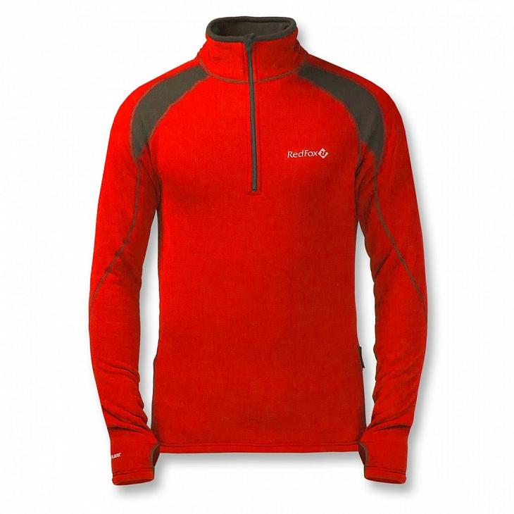 Купить Термобелье пуловер Penguin Power Stretch M (58, 1310/красный/черный, ,), Red Fox