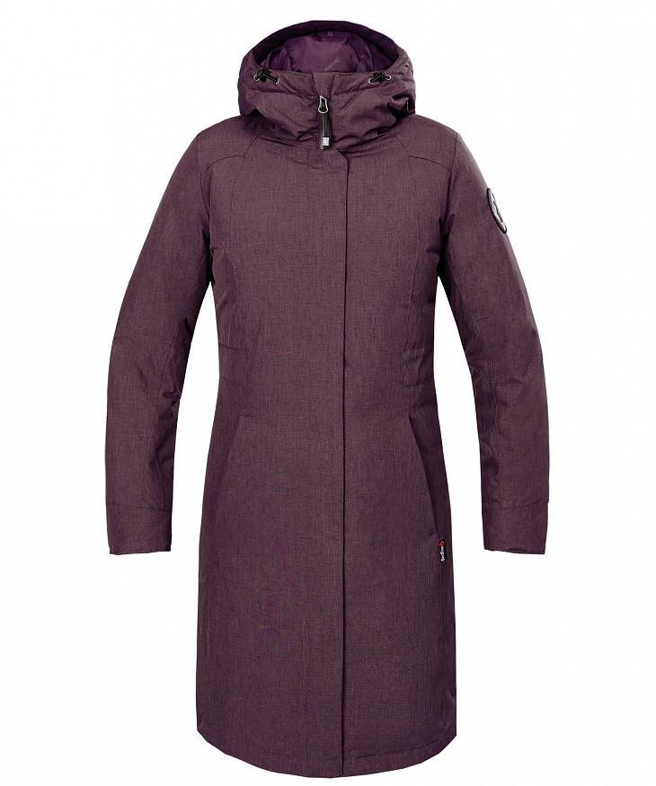 Купить Пальто пуховое Urban Fox III Женское (XL, 0100/чернила, , W 17-18), Red