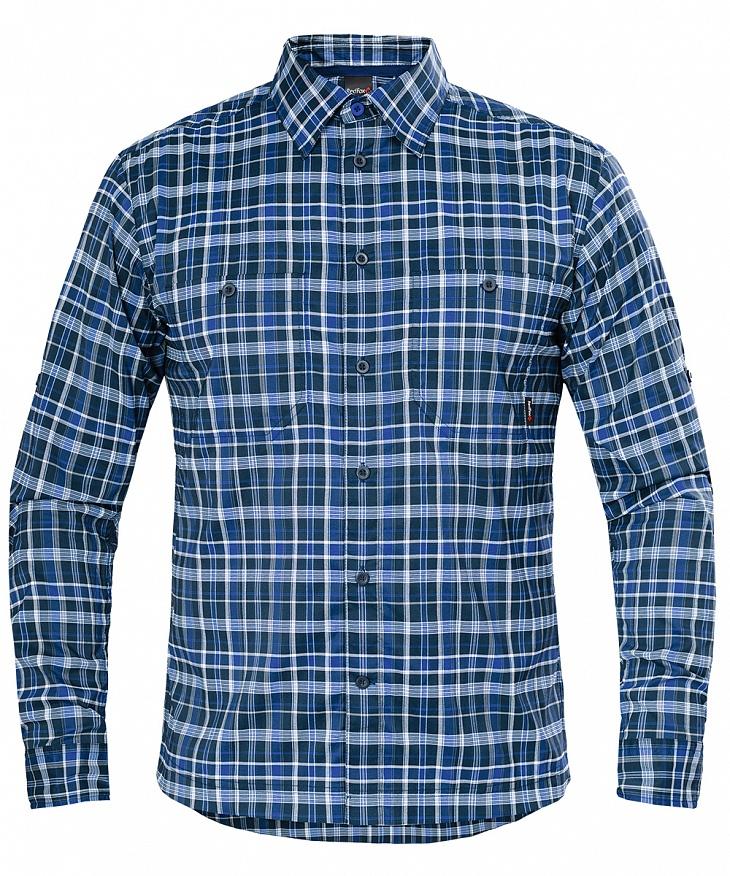 Купить Рубашка Vermont LS Мужская (54, 9100/т.синий, , SS17), Red Fox