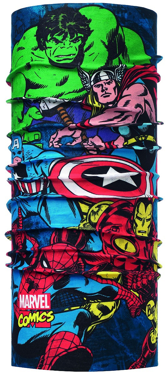 Бандана BUFF SUPERHEROES ORIGINAL (One Size, READY TO FIGHT MULT, , ,), Buff  - купить со скидкой