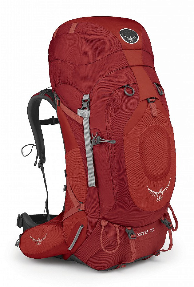 Купить Рюкзак Xena 70 (S, Ruby Red, ,) Osprey