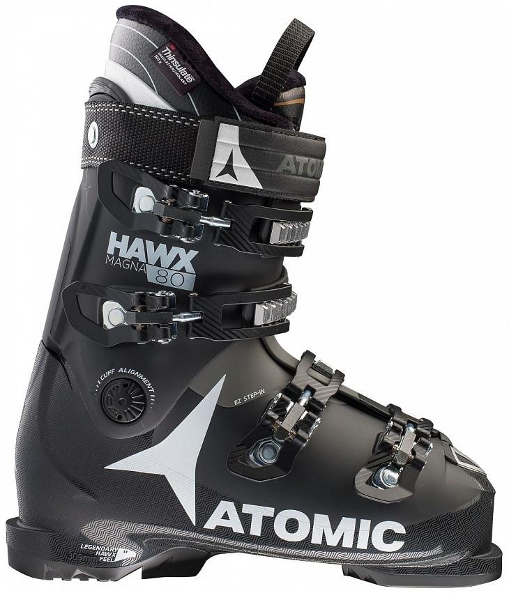 Купить Ботинки г/л HAWX MAGNA 80 (27, Black/White/Anthracite, , 2016), Atomic