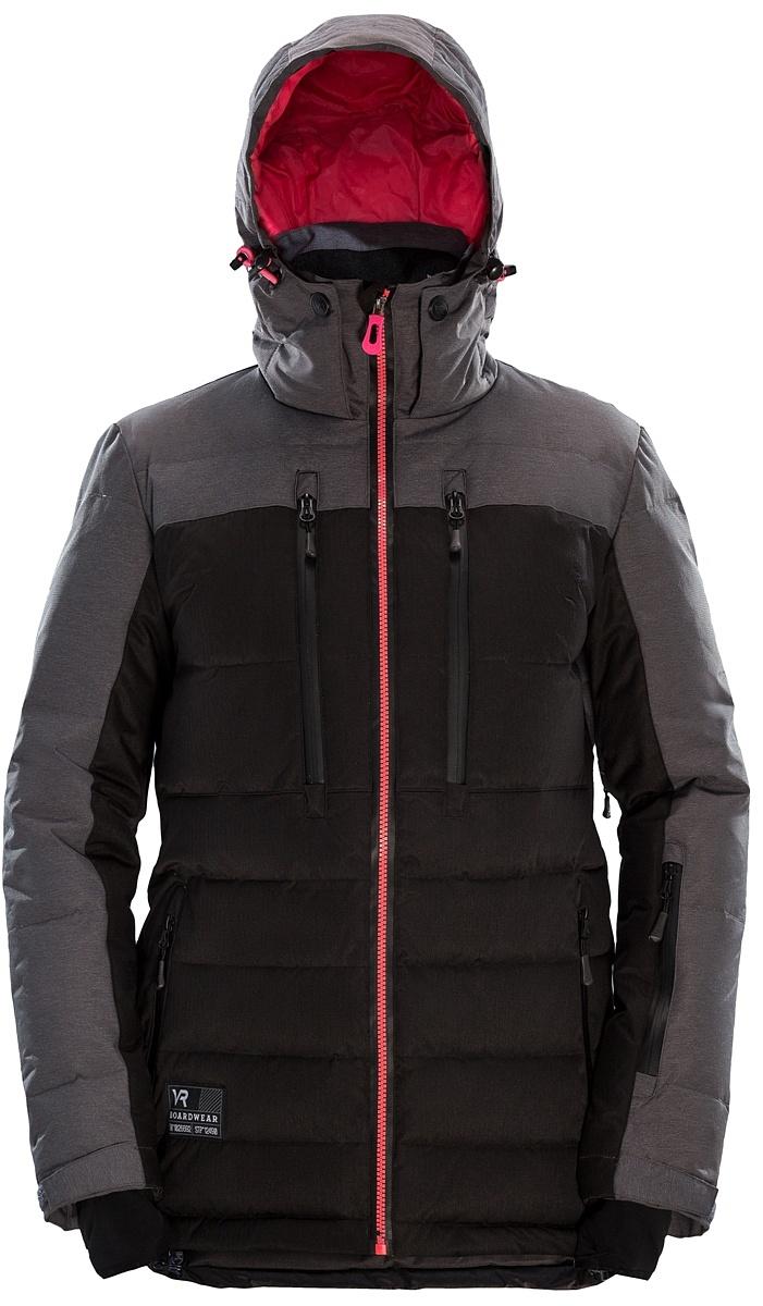 Купить Куртка пуховая KURASAO W (XS, 1019/черный/шоколад, ,) VR
