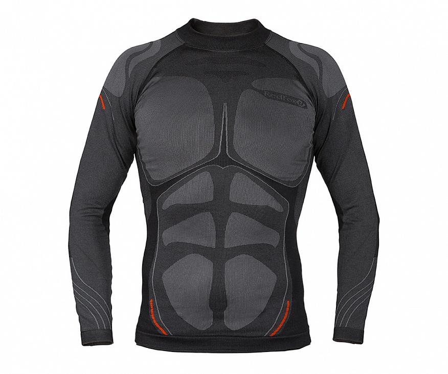 Купить Термобелье футболка с длинным рукавом Dry Zone Мужская (46-48, 1000/черный, , SS17), Red Fox