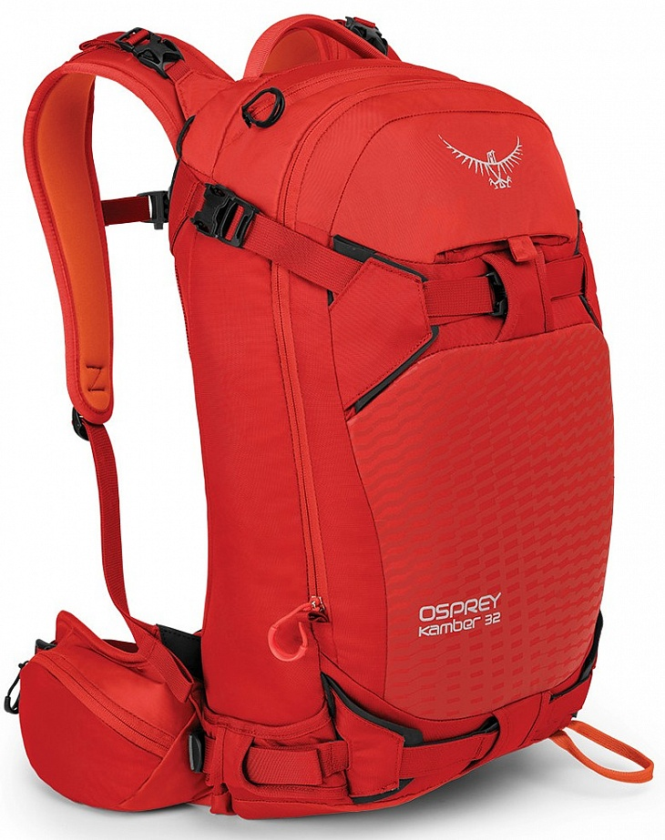 Купить Рюкзак Kamber 32 (S/M, Ripcord Red, , ,) Osprey