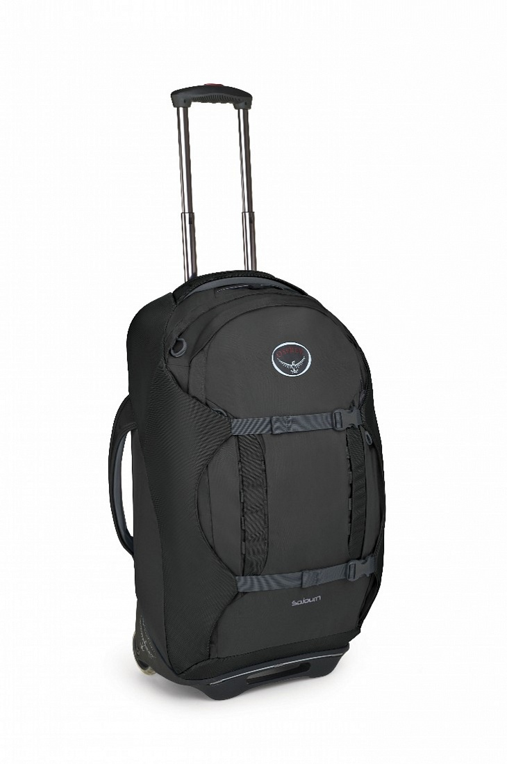 Купить Сумка-рюкзак на колёсах SoJourn 60 (, Metal Grey, ,), Osprey