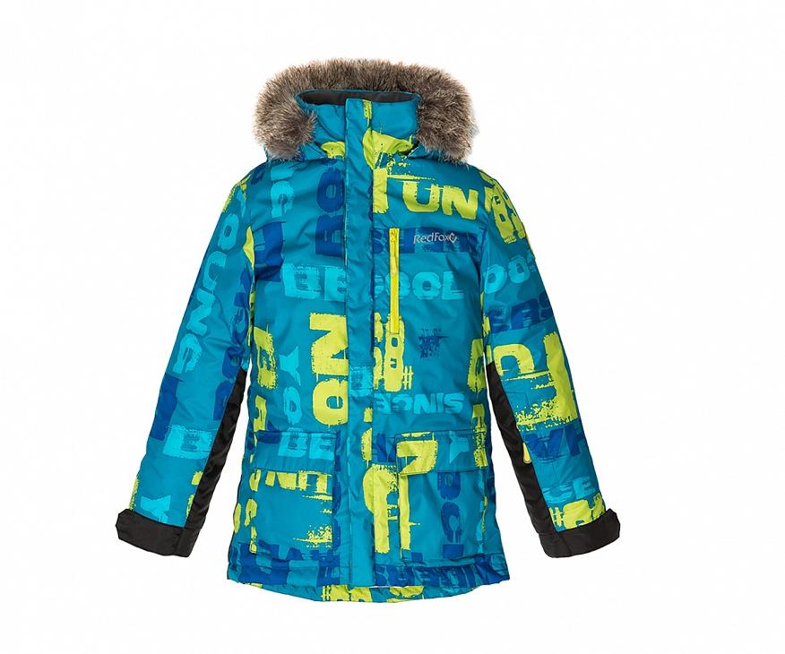 Купить Куртка утепленная Spy Fox II Детская (146, BP20/принт/асфальт, ,), Red