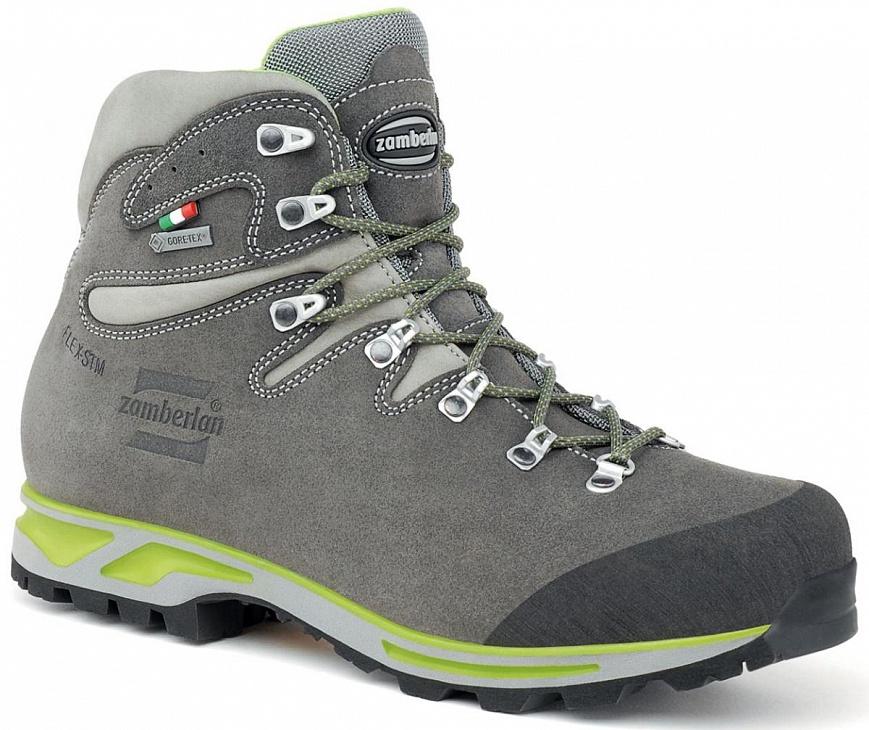 Купить Ботинки 900 ROLLE GTX (40.5, Graphite/Acid Green, , ,), Zamberlan