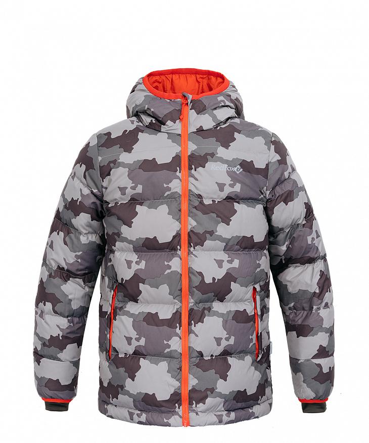 Купить Куртка пуховая Everest Micro Light Kids II (134, J300/принт, , ,), Red Fox