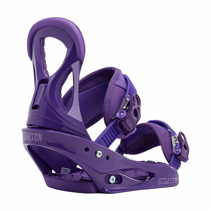 Купить Крепления STILETTO (L, Hot Purple, , FW18), Burton