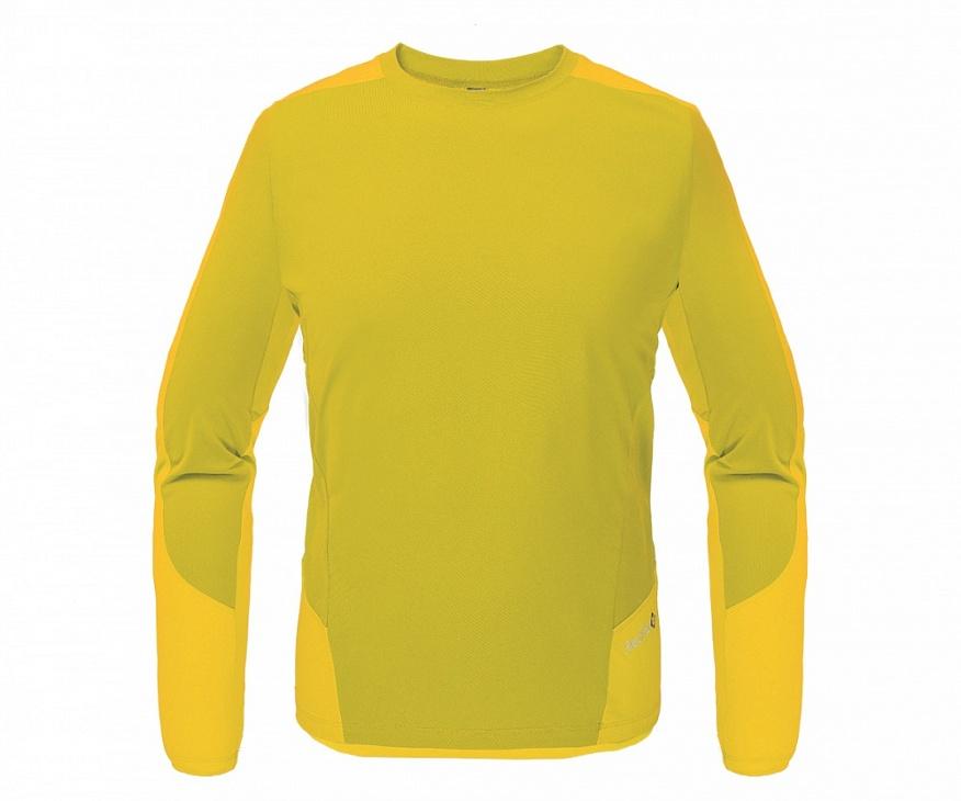 Купить Футболка Amplitude LS Мужская (56, 4243/эвкалипт/жёлтый, ,), Red Fox