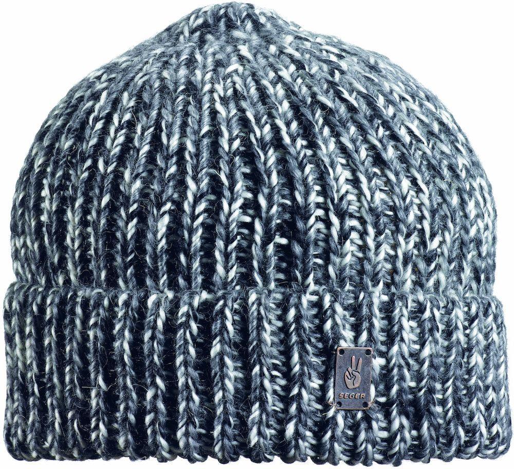 мужская шапка seger, черная