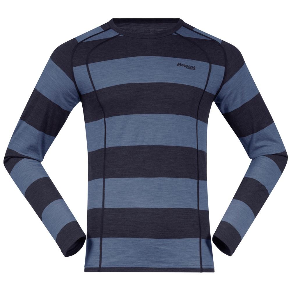 мужская кофта bergans, синяя
