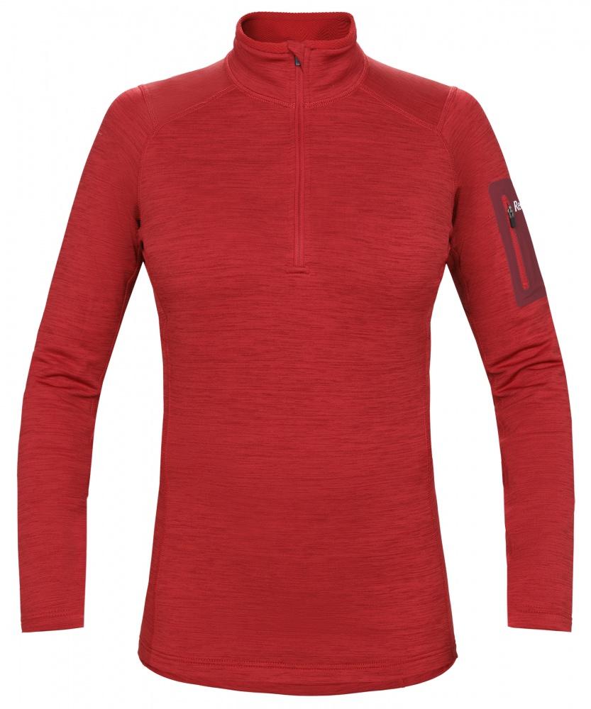 женский пуловер red fox, бордовый