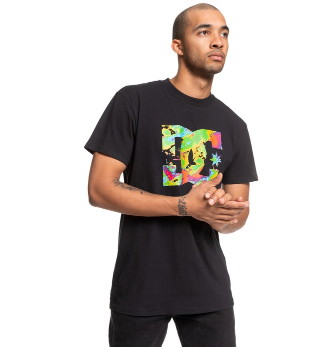 ФУТБОЛКА RAVE ON SS M TEES KVJ0 Dc Shoes