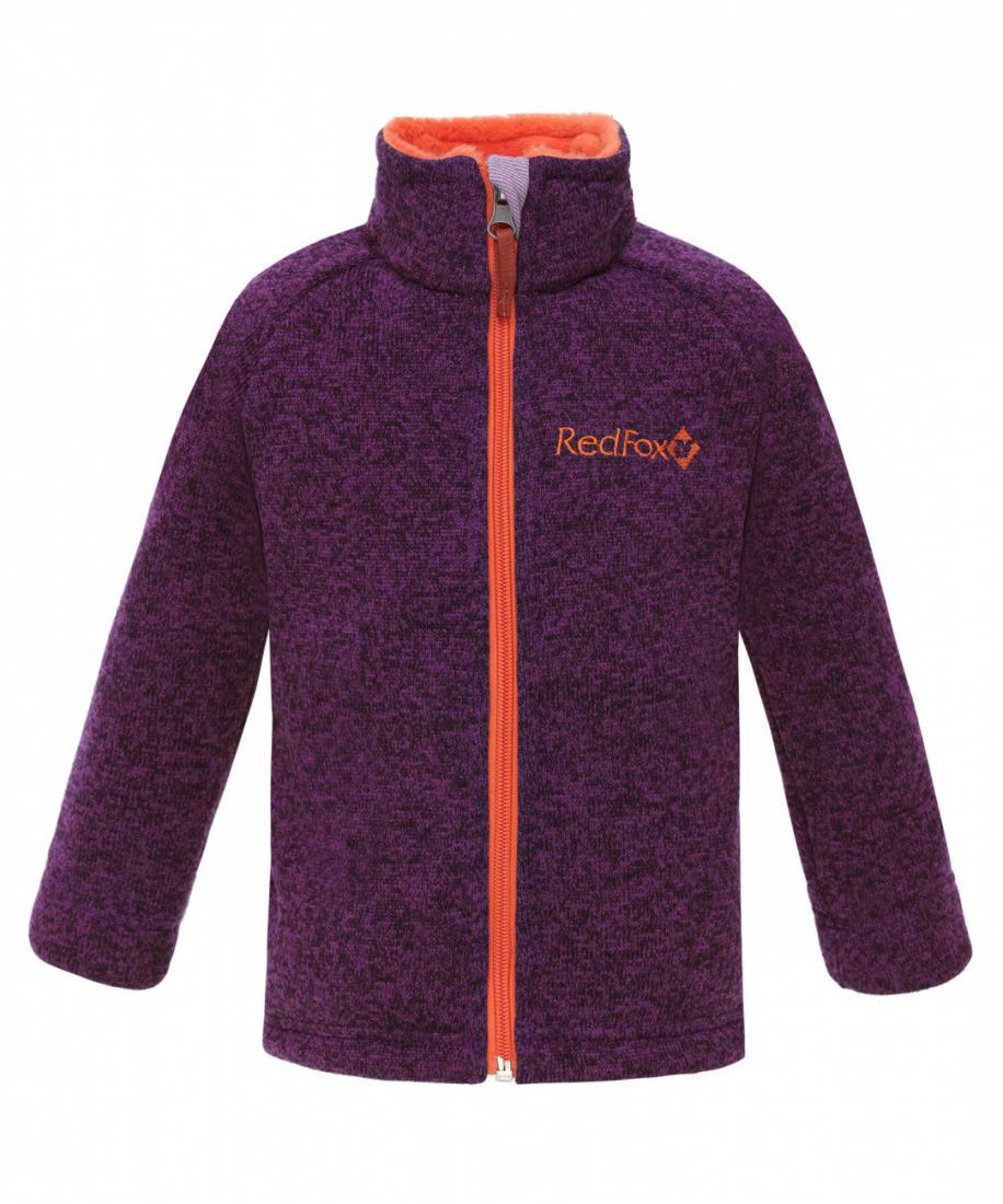 детская куртка red fox, оранжевая