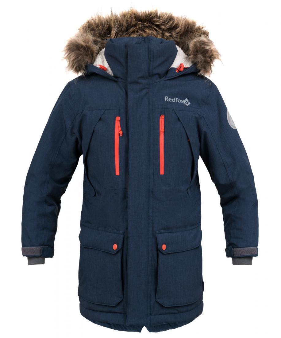 детская куртка red fox, синяя