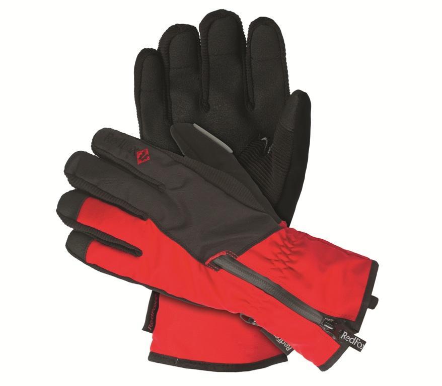 мужские перчатки red fox, синие