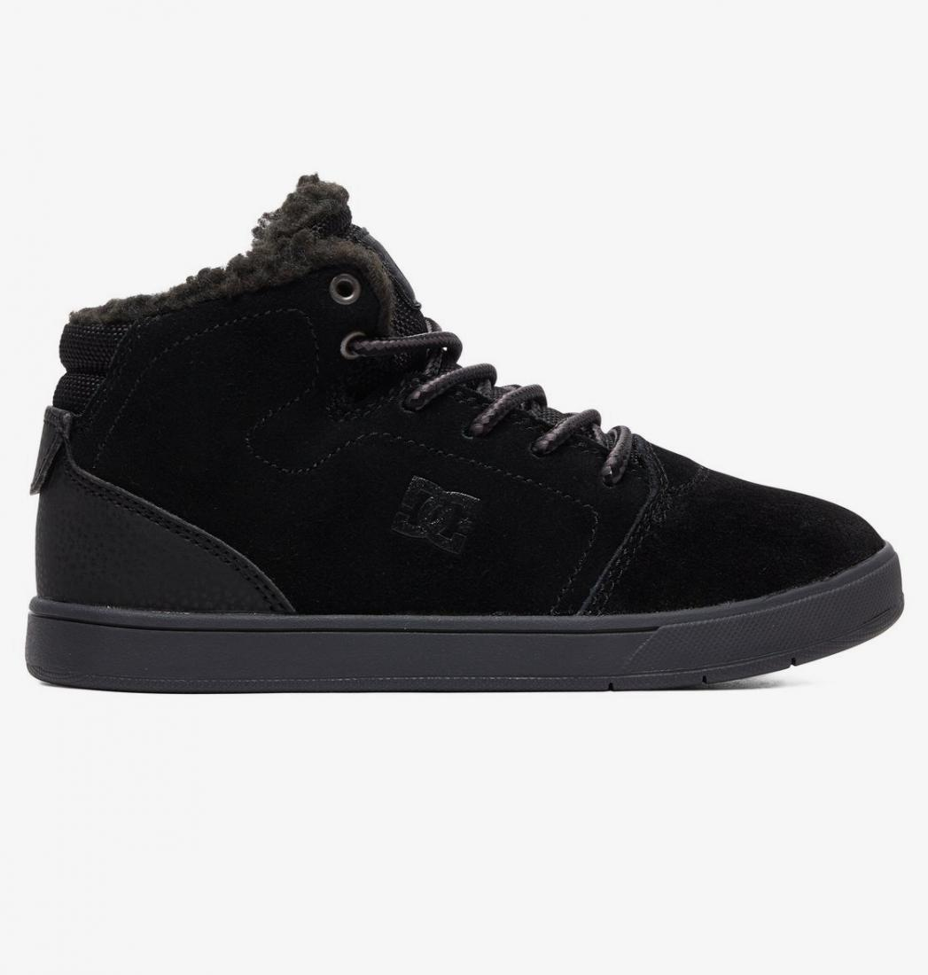 БОТИНКИ CRISIS HIGH WNT B SHOE BLK ТИПА КЕД Dc Shoes