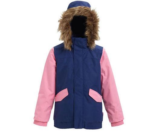 детская куртка burton, синяя