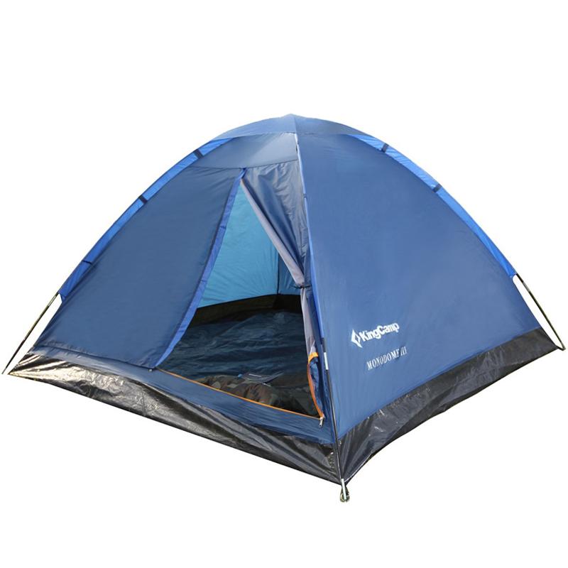 3010 MONODOME 3 Fiber палатка (зелёный) от King Camp