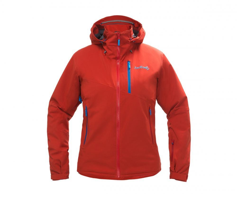 женская куртка red fox, серая