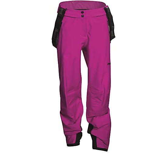 женские брюки bergans, розовые