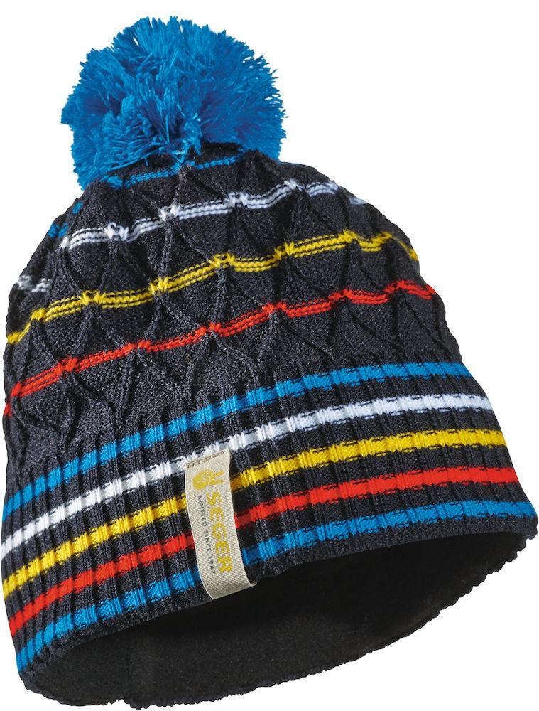 мужская шапка seger, синяя