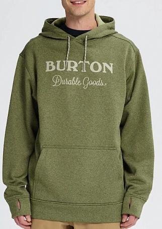 мужская толстовка burton, бирюзовая