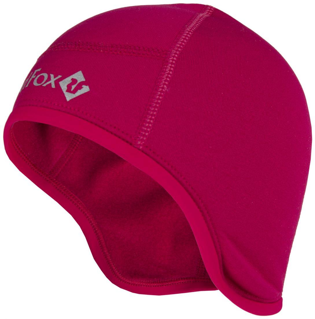 мужская шапка red fox, розовая