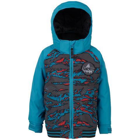 детская куртка burton, бирюзовая