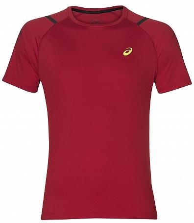 мужская футболка asics, красная
