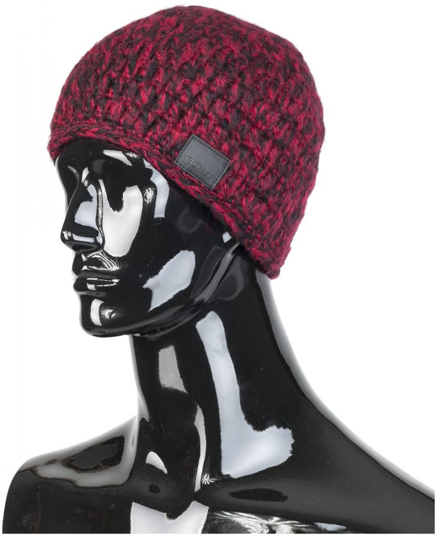 женская шапка chaos, красная