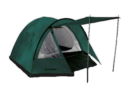 TOWER 4 палатка TALBERG (зелёный)