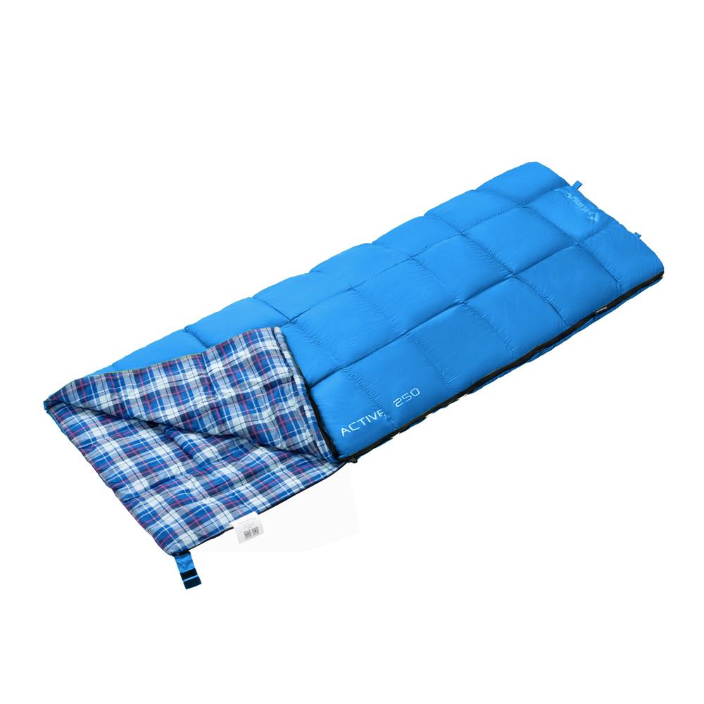 3103 ACTIVE 250 -5С 190x75 спальный мешок (синий, от King Camp