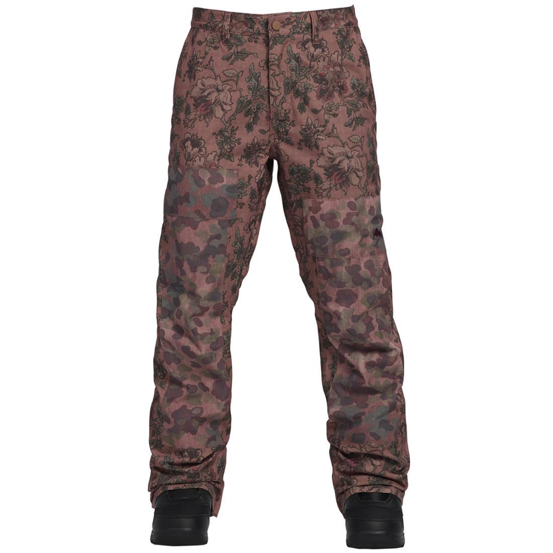 женские брюки burton, розовые