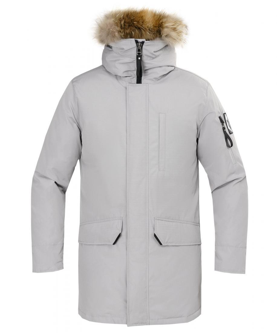 Куртка пуховая Nanook Мужская Red Fox серого цвета