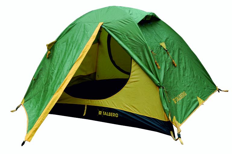 SLIPER 3 палатка Talberg (зелёный/желтый)