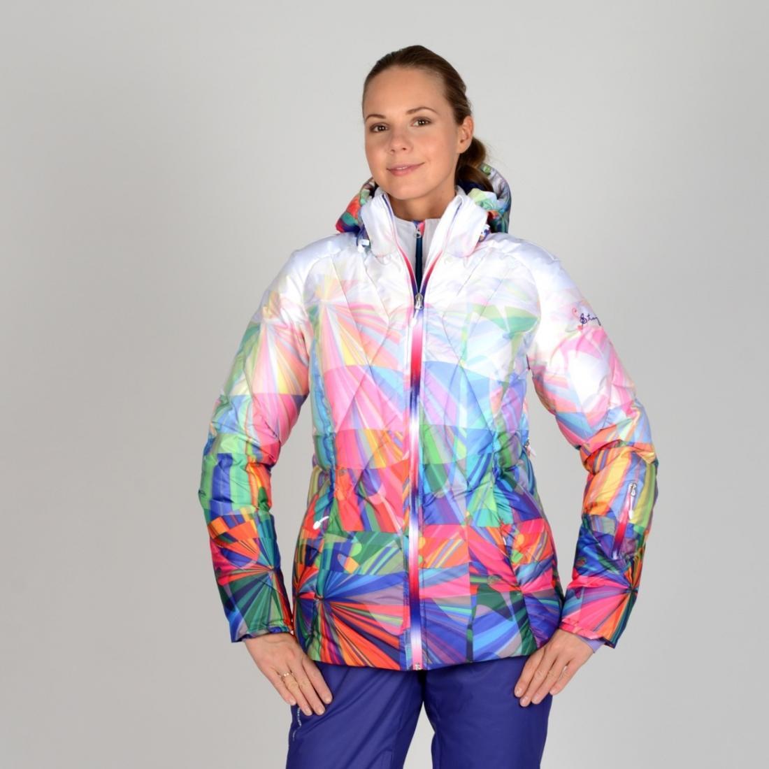женская куртка stayer, розовая