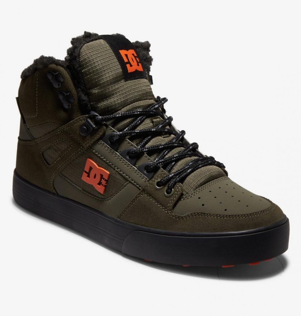 Высокие зимние кеды DC Pure High WNT Dc Shoes