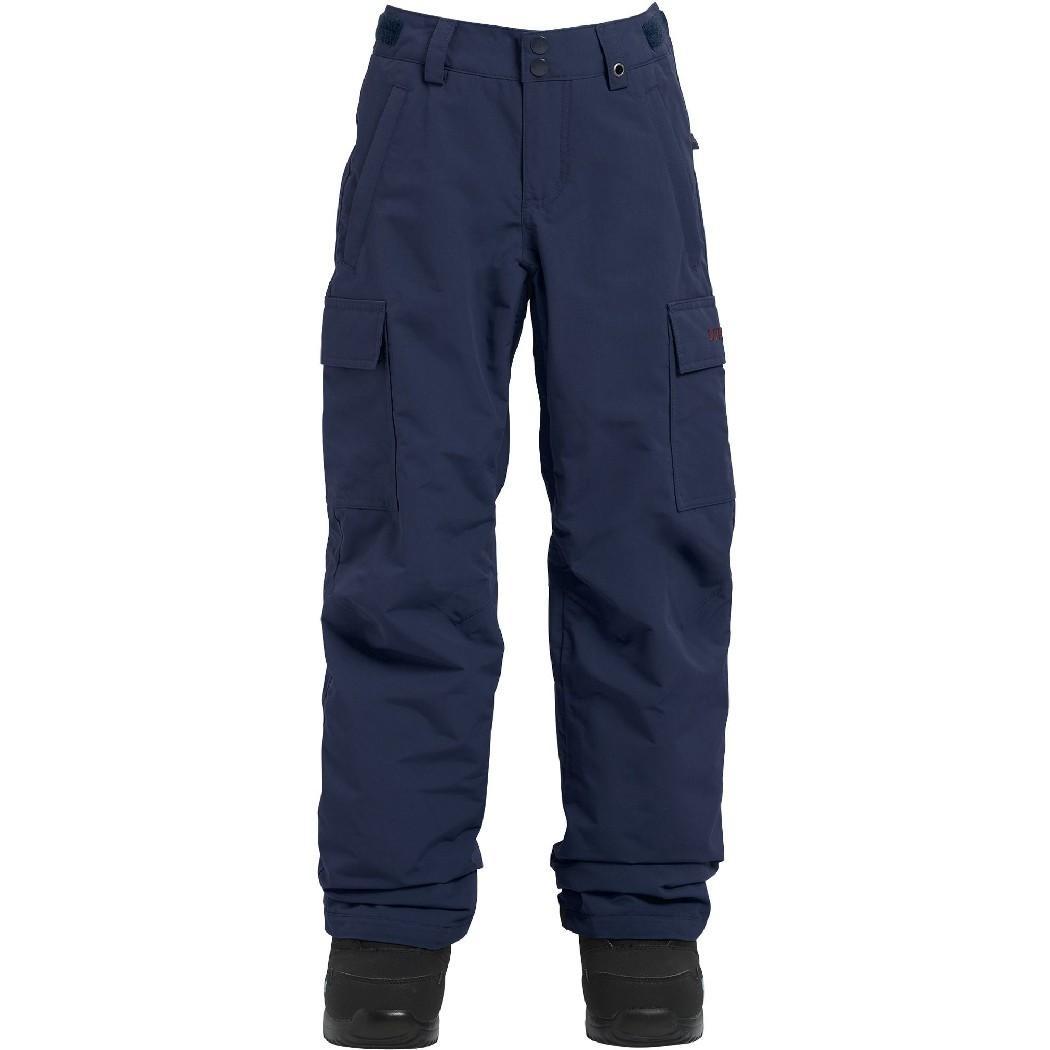 детские брюки burton, бордовые