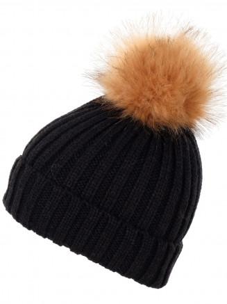 женская шапка surfanic, черная