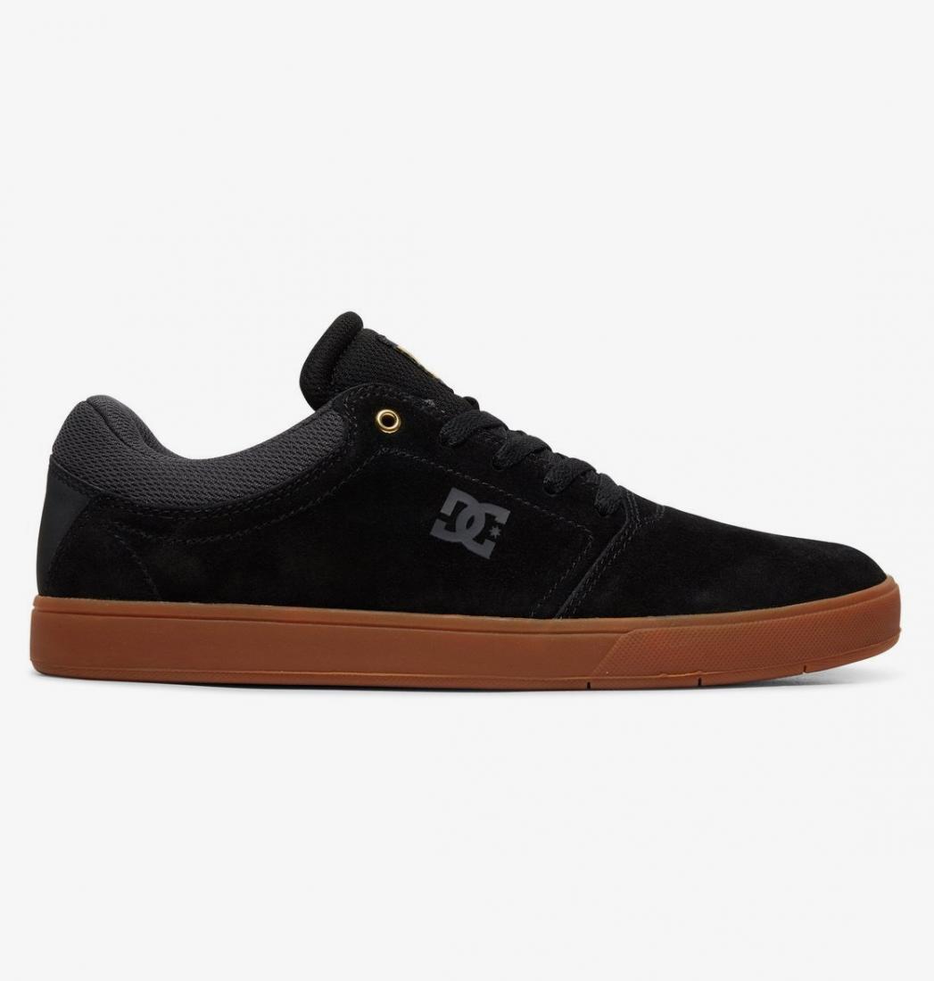 ПОЛУБОТИНКИ ТИПО КЕД CRISIS M SHOE XKSK DC shoes черного цвета