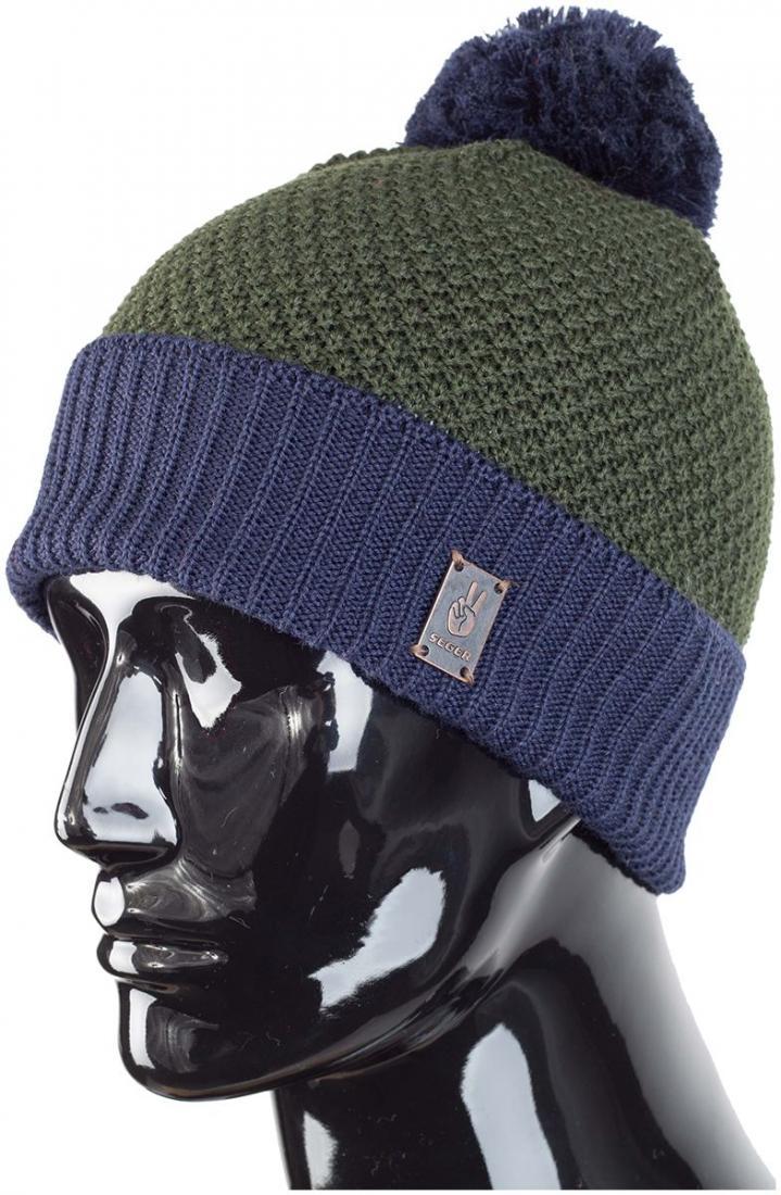 мужская шапка seger, хаки