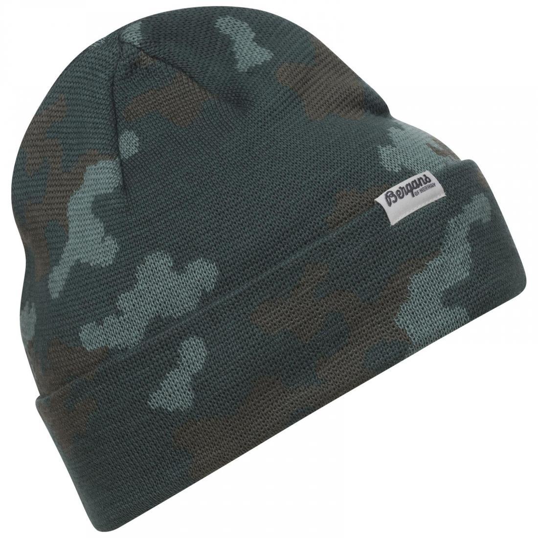 *Шапка Camouflage взрослая Bergans
