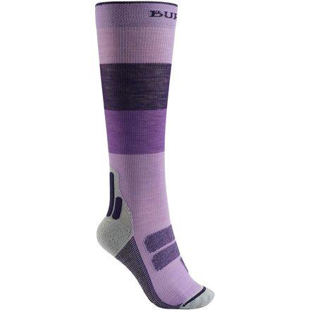 женские носки burton, фиолетовые