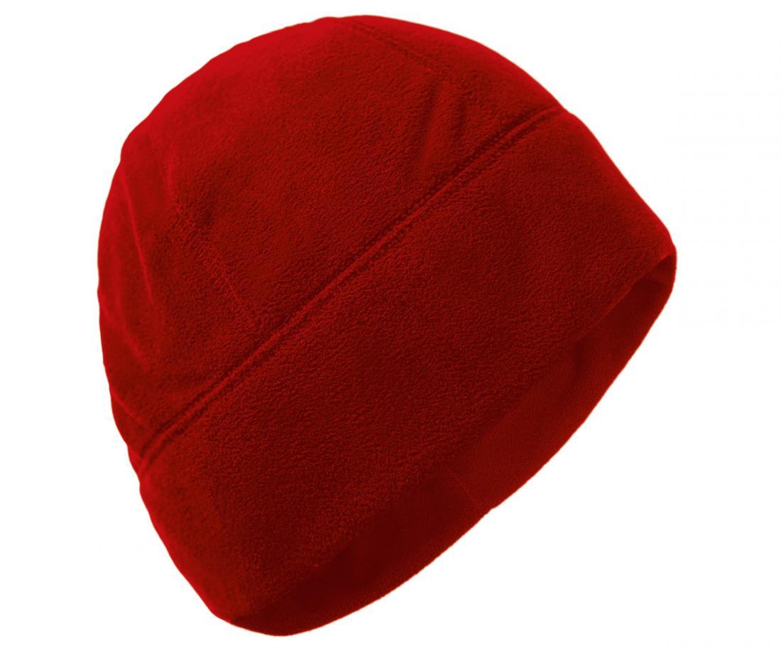 мужская шапка red fox, красная