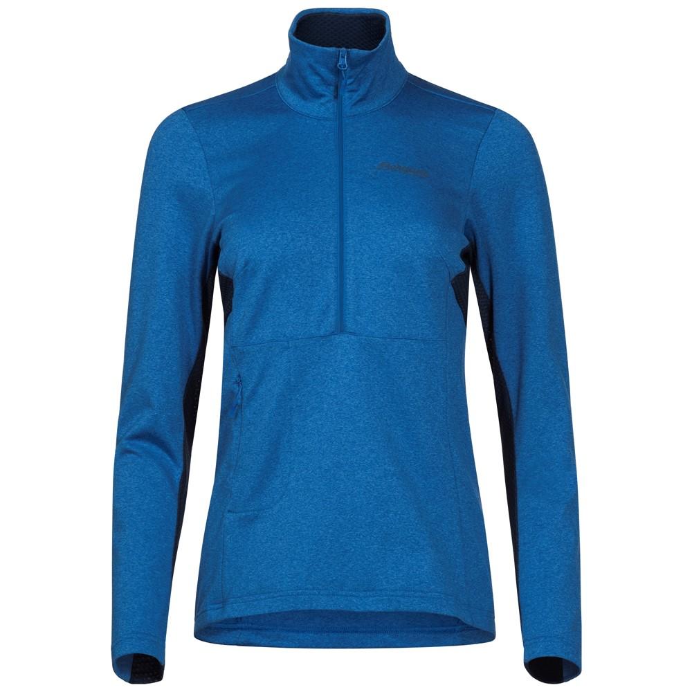женская куртка bergans, синяя