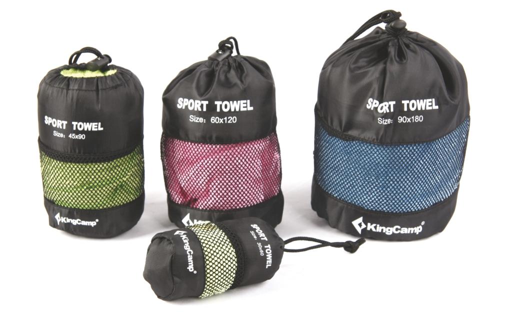 3711 Camper Towel M полотенце 45х90см от King Camp